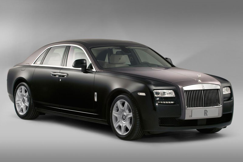 4. Rolls-Royce Ghost.