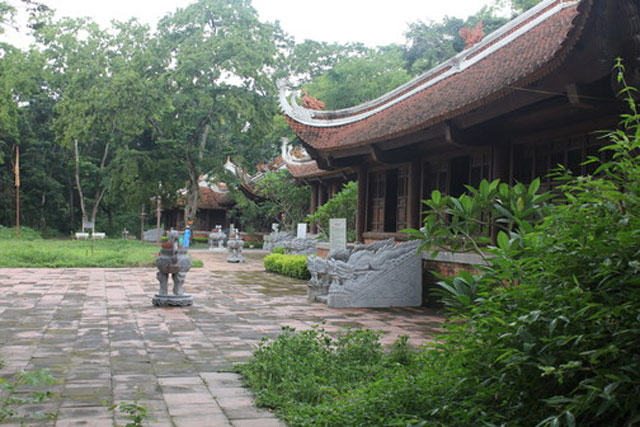 Di tích Lam Kinh của triều Hậu Lê.