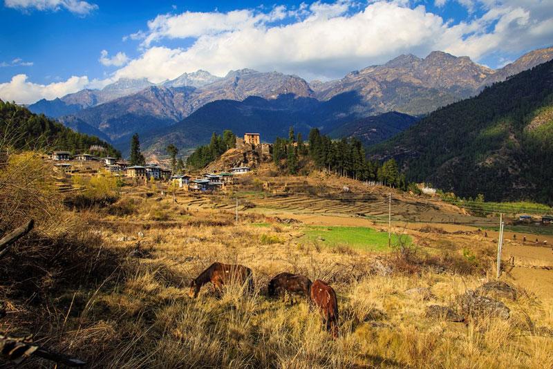 Bhutan là quốc gia nội lục tại miền Đông Dãy Himalaya thuộc Nam Á.