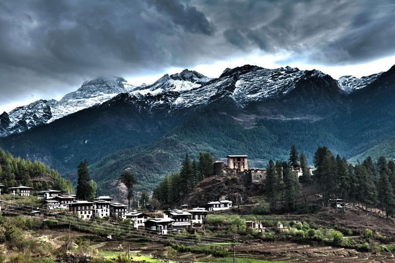 Người Bhutan không mấy quan tâm đến TV và internet.