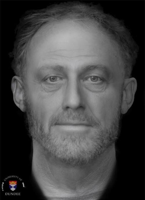 Phục dựng thành công khuôn mặt người đàn ông sống 700 năm trước - 1