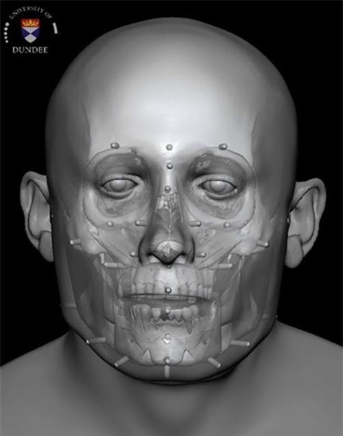 Phục dựng thành công khuôn mặt người đàn ông sống 700 năm trước - 2