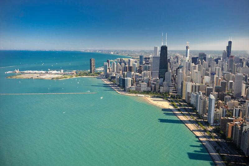 Chicago còn là thành phố toàn cầu có thứ hạng cao.