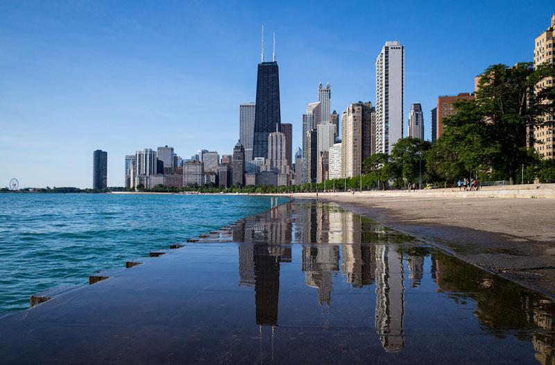 """Chicago còn được các quý cô ví von là """"thiên đường mua sắm""""."""