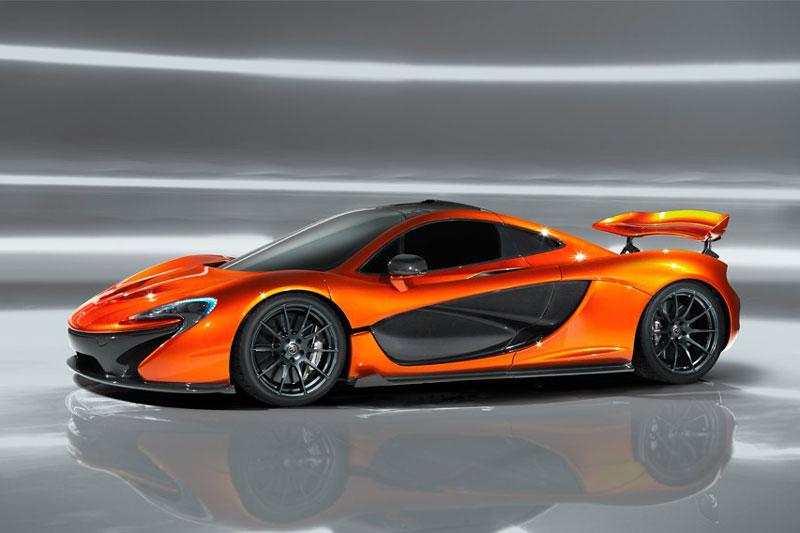7. McLaren P1.