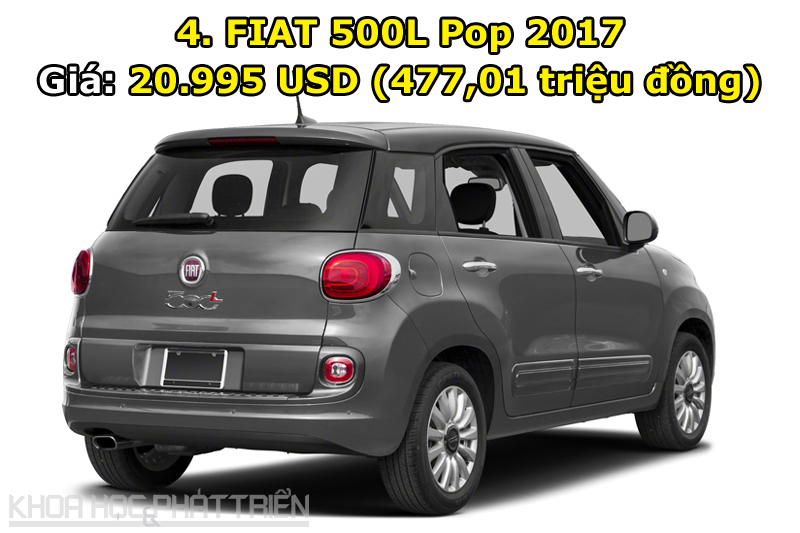 4. FIAT 500L Pop 2017.