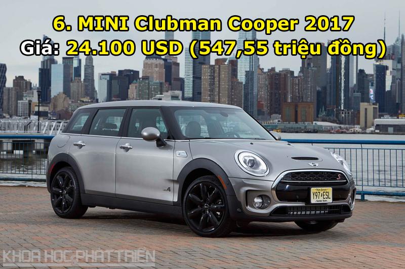 6. MINI Clubman Cooper 2017.