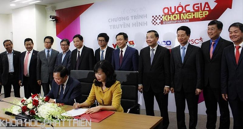 Lễ ký thỏa thuận hợp tác giữa Hội Liên hiệp thanh niên Việt Nam và Đài truyền hình Việt Nam
