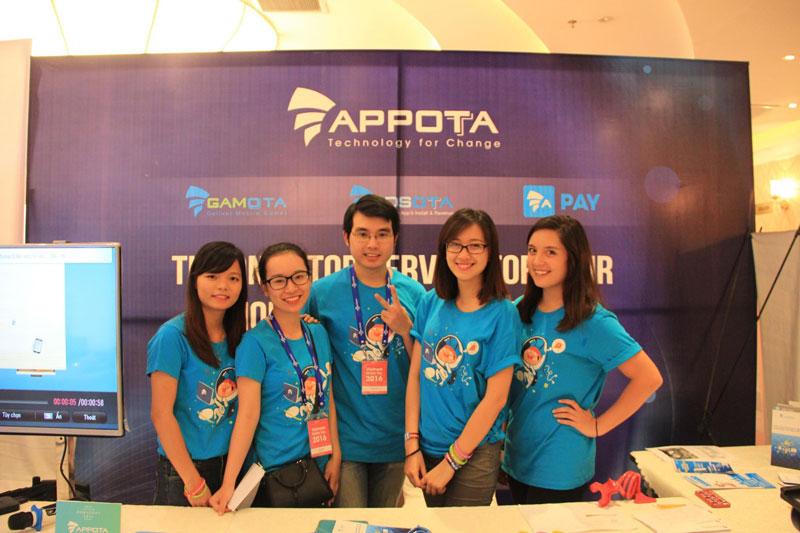 Appota luôn được coi là một start-up trẻ trung, năng động.