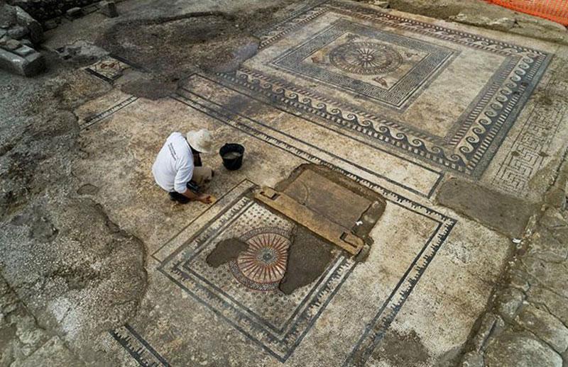 Nền móng của một công trình của thành phố cổ Ucetia huyền thoại. (Nguồn: sciencealert.com)