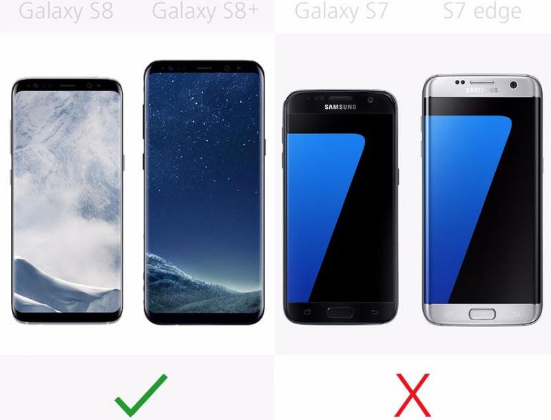 Galaxy S7, Galaxy S7 Edge không có tính năng nhận diện khuôn mặt.