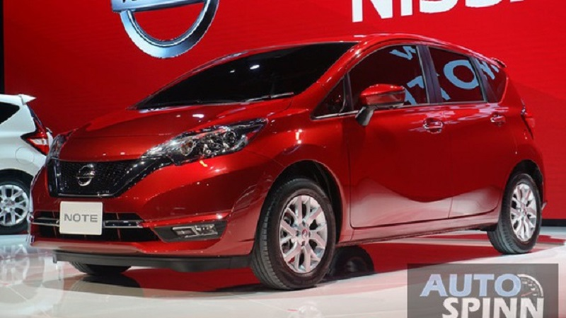 Xe Nissan Note 2017