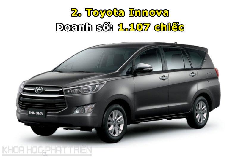 2. Toyota Innova.