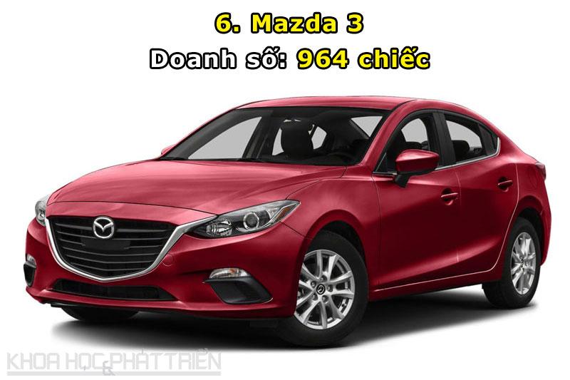 6. Mazda 3.