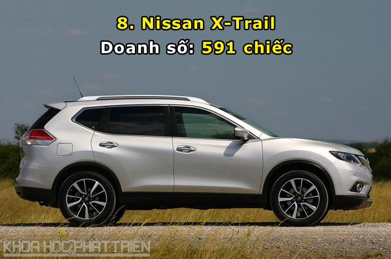8. Nissan X-Trail.
