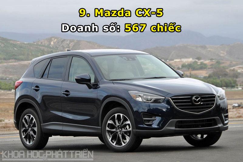 9. Mazda CX-5.