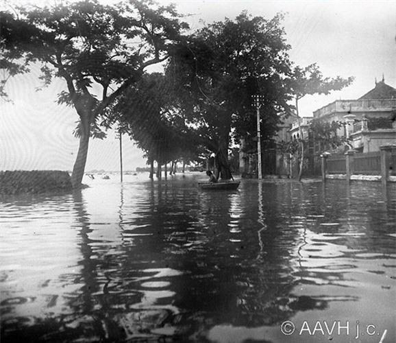 Anh doc ve tran lut lich su o Hai Duong nam 1926