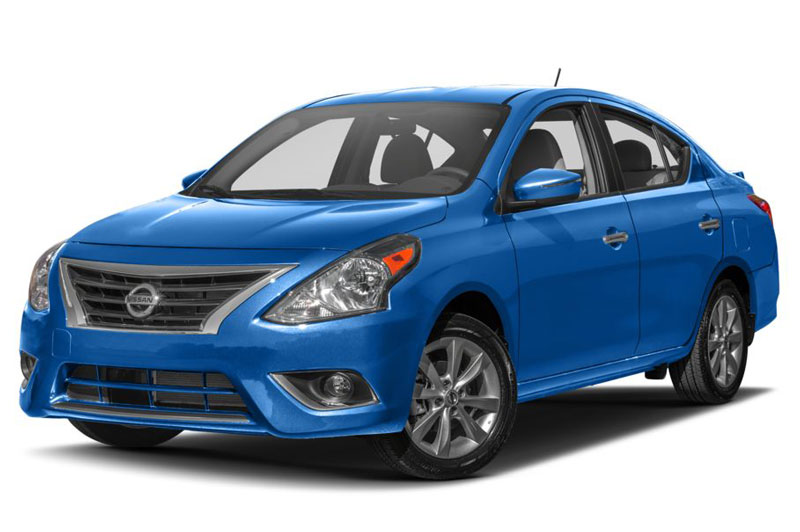 4. Nissan Versa 2017.