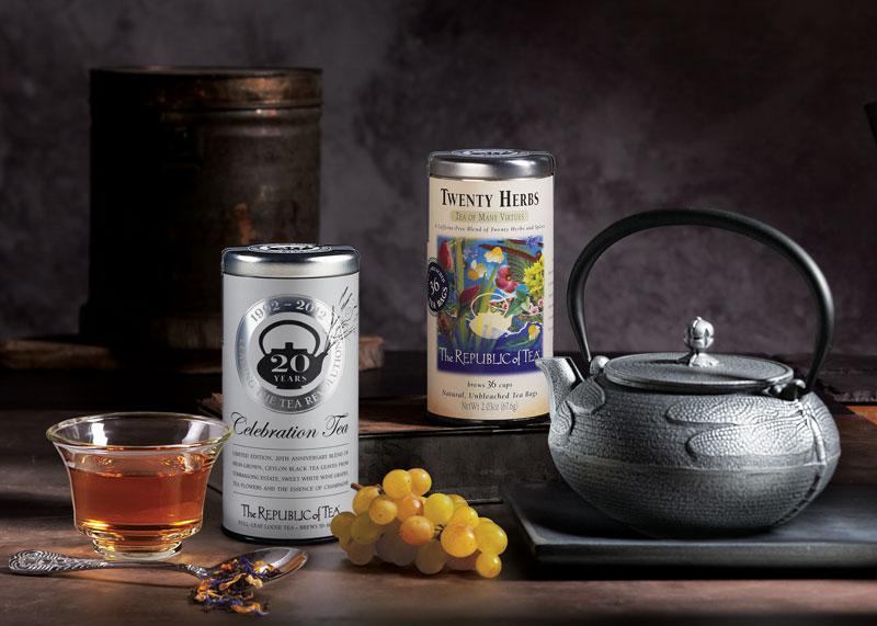 5. The Republic of Tea. Công ty sản xuất trà có trụ sở ở Mỹ. Thương hiệu này được tung ra thị trường năm 1992 và nhanh chóng nhận được sự hưởng ứng nhiệt tình của người tiêu dùng trên toàn thế giới.