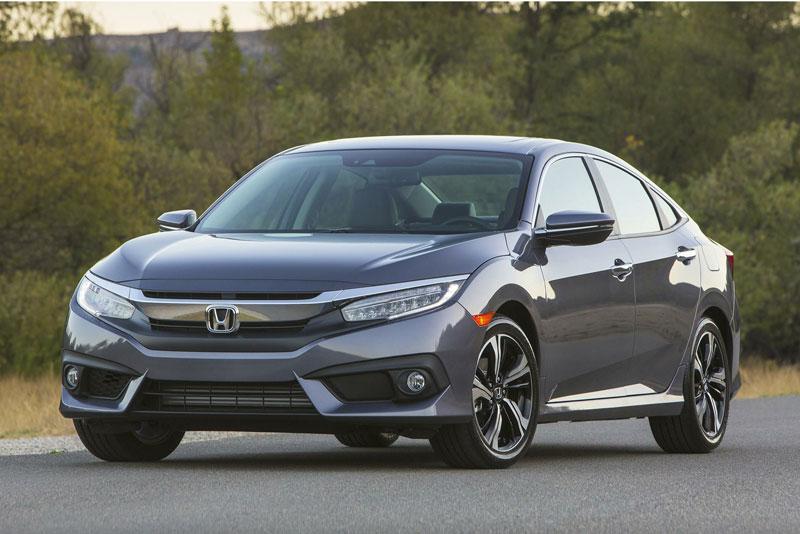 6. Honda Civic 2017.