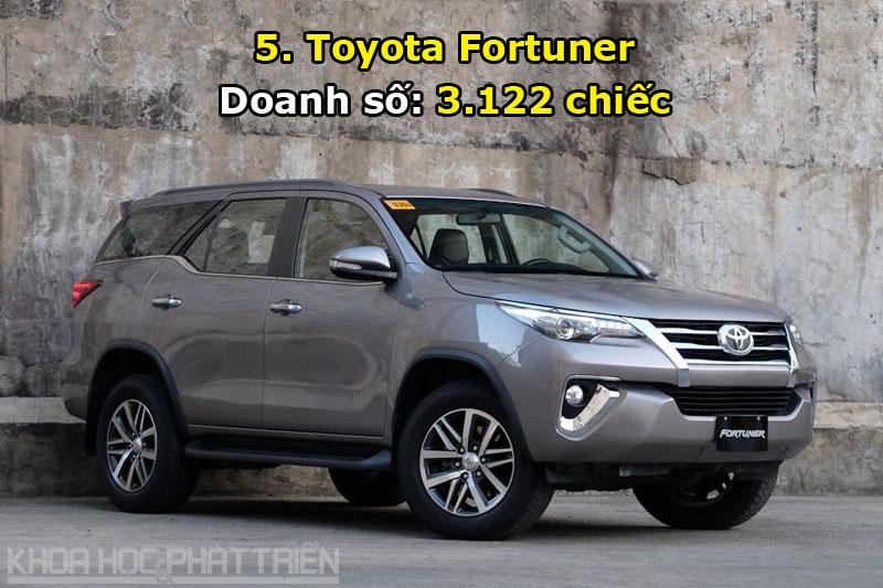 5. Toyota Fortuner.