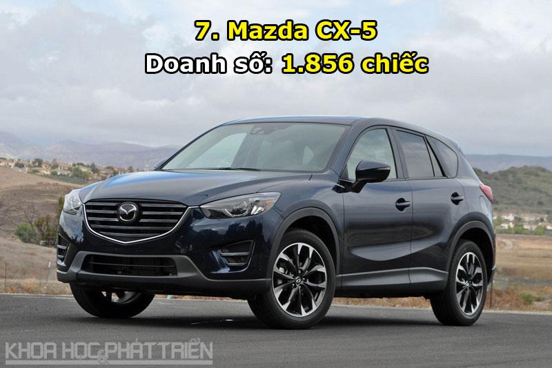 7. Mazda CX-5.