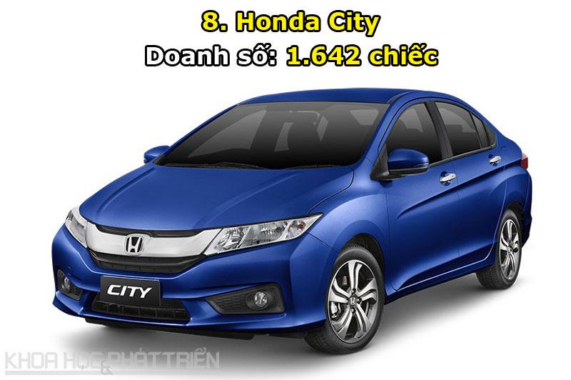 8. Honda City.