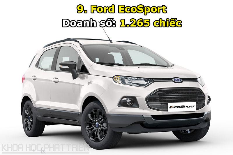 9. Ford EcoSport.