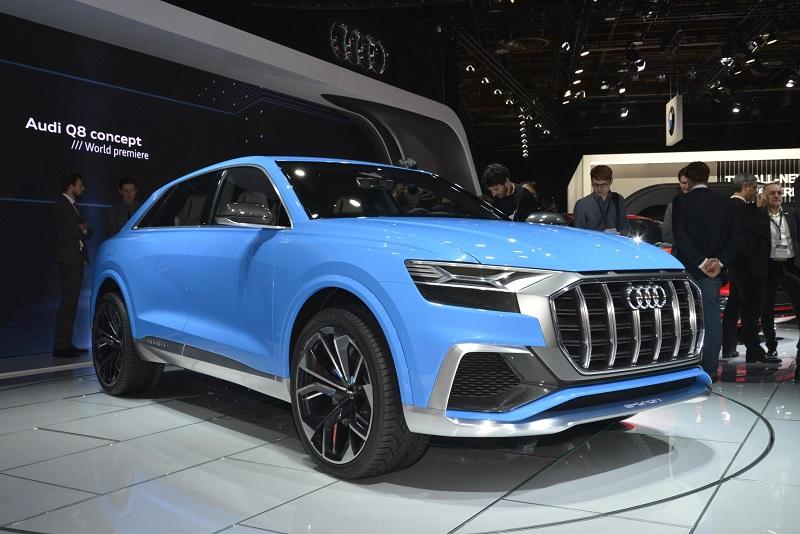 Chiếc Audi Q8 Concept.