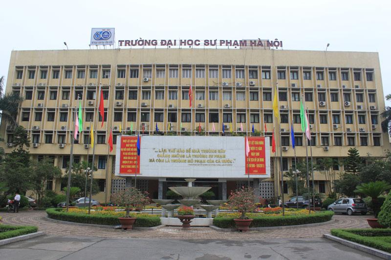 5. Đại học Sư phạm Hà Nội. Trung tâm đào tạo đại học, sau đại học, nghiên cứu và ứng dụng khoa học giáo dục và đa ngành chất lượng cao. Đây là một trong các trường đại học trọng điểm trong hệ thống giáo dục đại học Việt Nam. Trường có trụ sở đặt tại quận Cầu Giấy, Hà Nội.