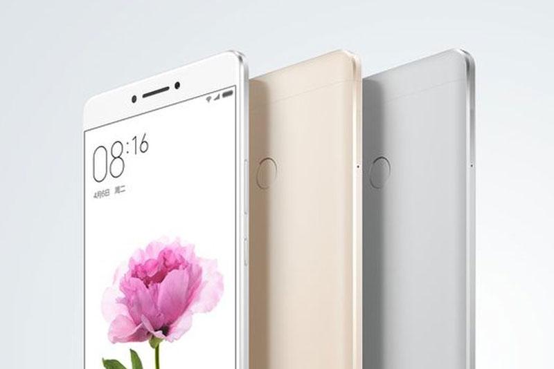 Xiaomi Mi Max 2. Ảnh minh họa.