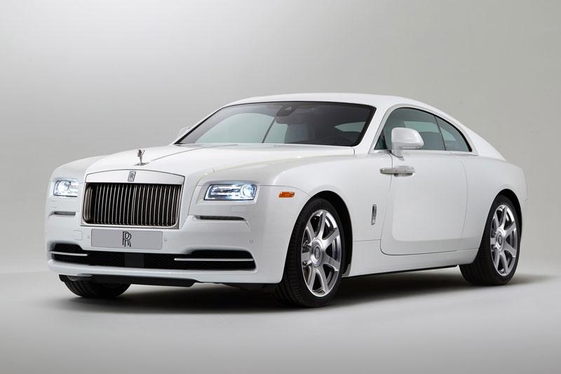 10. Rolls-Royce Wraith.