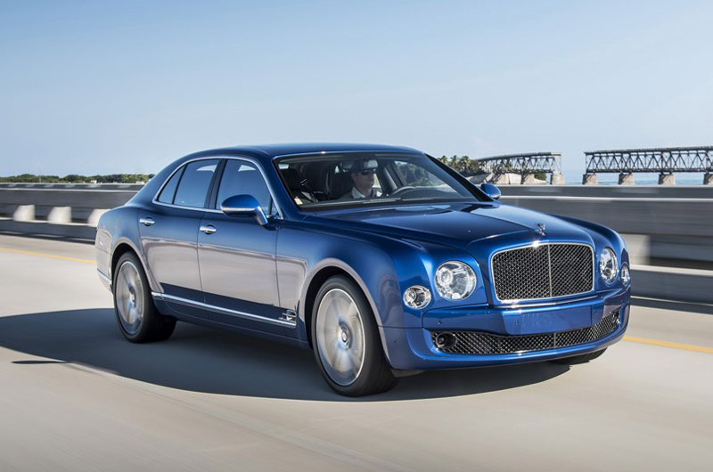 2. Bentley Mulsanne Speed.