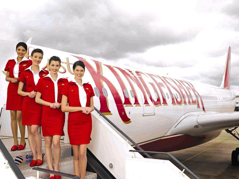 4. Kingfisher Airlines. Hãng hàng không có trụ sở ở Ấn Độ. Đây là một trong những hãng hàng không danh tiếng nhất quốc gia Nam Á nhờ phong cách phục vụ chuyên nghiệp cùng những tiếp viên nóng bỏng, thân thiện.