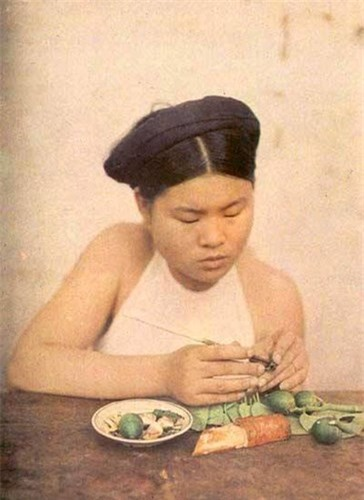 Goc anh dac biet phu nu Viet Nam nhung nam 1910-Hinh-10