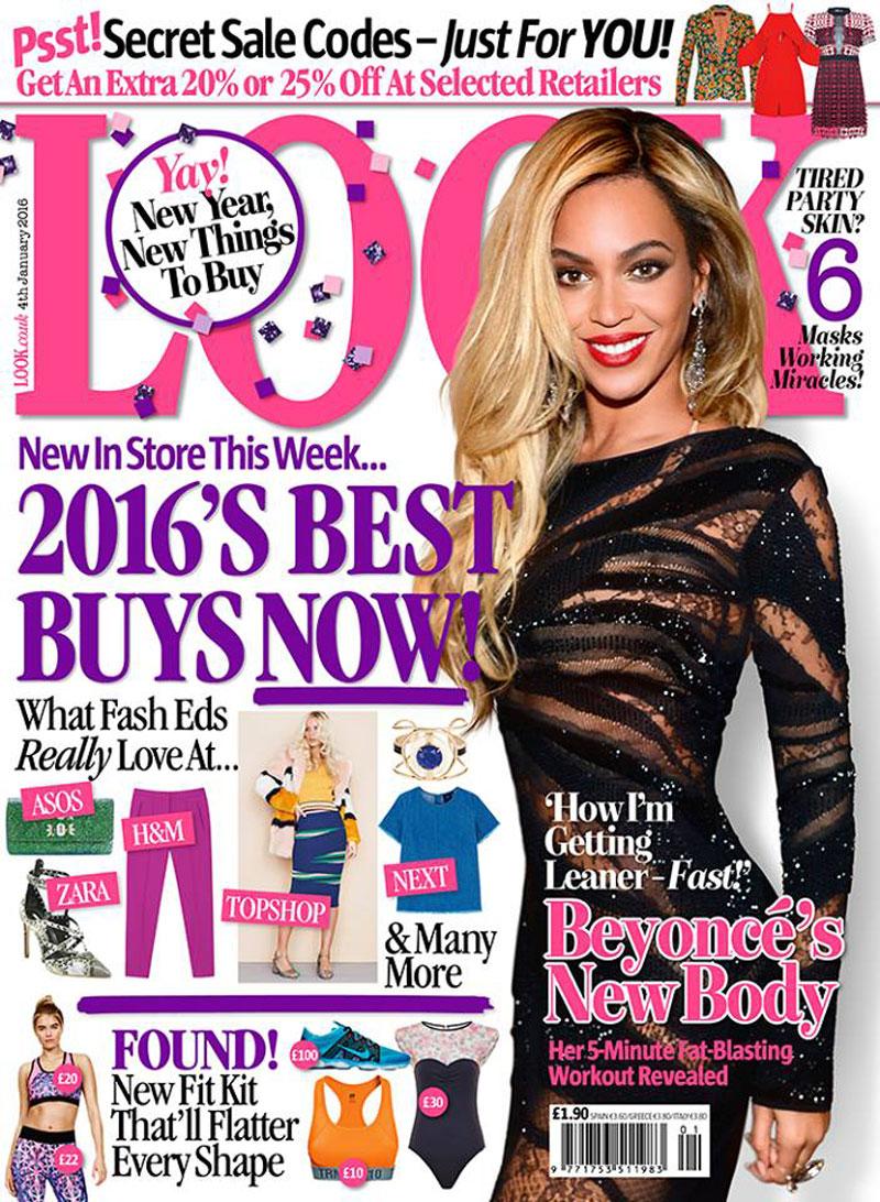 10. Look. Là tạp chí thời trang có trụ sở đặt ở bang Iowa, Mỹ. Tạp chí này giúp người đọc có cái nhìn tổng quát hơn về xu hướng thời trang hiện tại. Rất nhiều độc giả mua tờ tạp chí này với mong muốn cải thiện phong cách ăn mặc của bản thân.