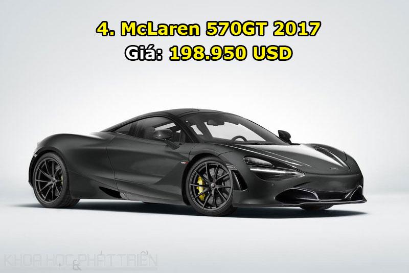 4. McLaren 570GT 2017.