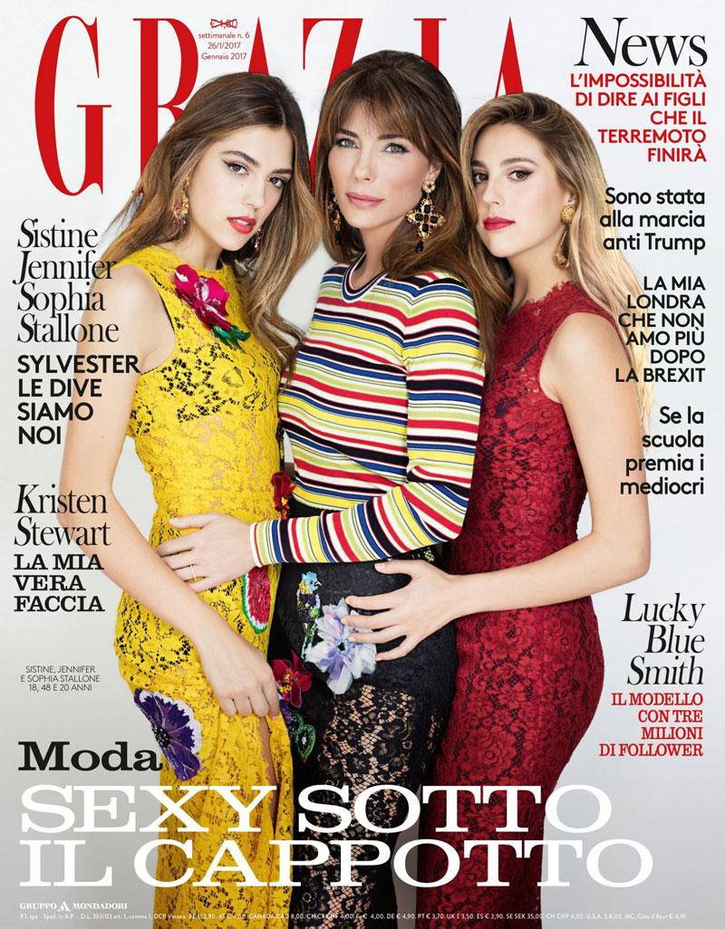 4. Grazia. Là tuần tạp chí phụ nữ có nguồn gốc ở Italia được xuất bản lần đầu tiên năm 1938. Hiện tại, Grazia có các phiên bản quốc tế Albania, Bahrain, Bulgaria, Trung Quốc, Croatia, Pháp, Đức, Hy Lạp, Indonesia, Ấn Độ, Nhật Bản, Macedonia, Mexico, Hà Lan, Ba Lan và Bồ Đào Nha.