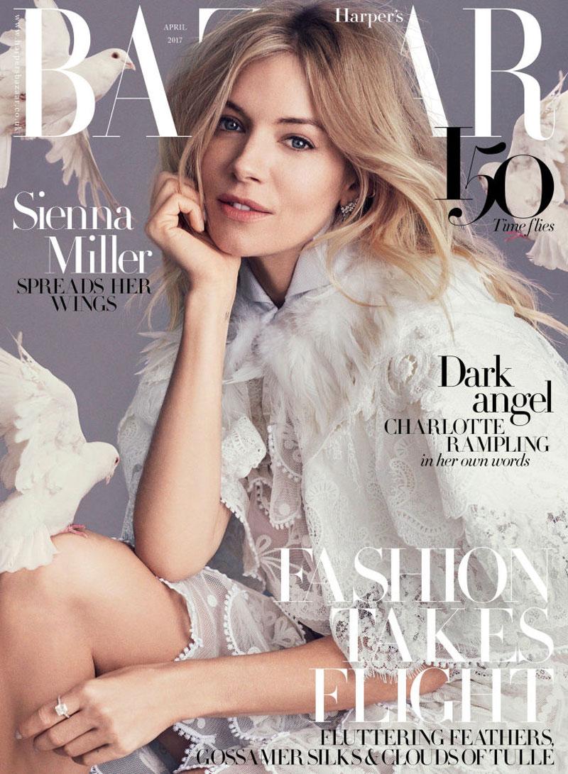 7. Harper's Bazaar. Là tạp chí thời trang của Mỹ, phát hành số đầu tiên vào năm 1867. Nó được xếp vào những tạp chí thời trang hàng đầu thế giới với hơn 35 phiên bản và phát hành bằng 14 ngôn ngữ tại hơn 100 quốc gia.