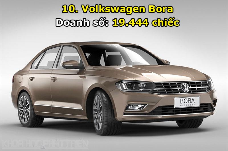 10. Volkswagen Bora.
