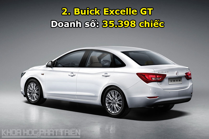 2. Buick Excelle GT.