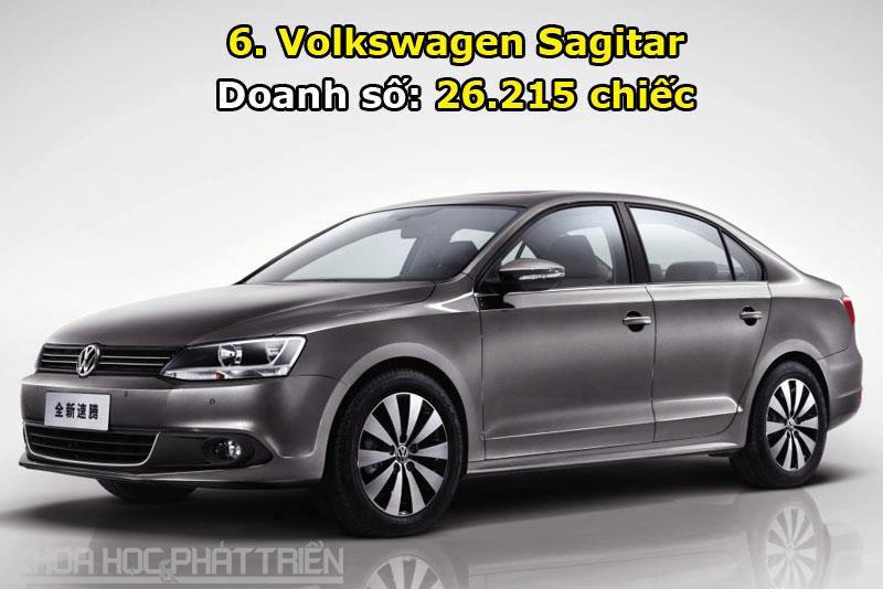 6. Volkswagen Sagitar.