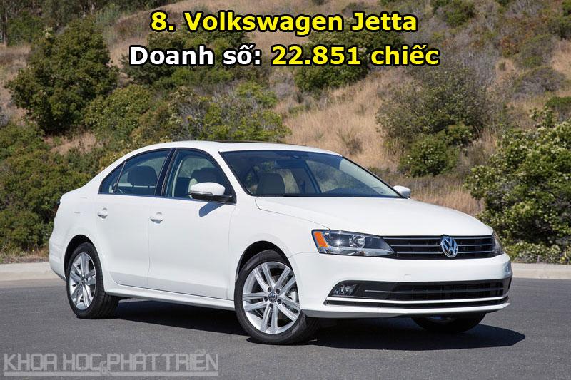 8. Volkswagen Jetta.