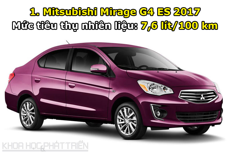 1. Mitsubishi Mirage G4 ES 2017.