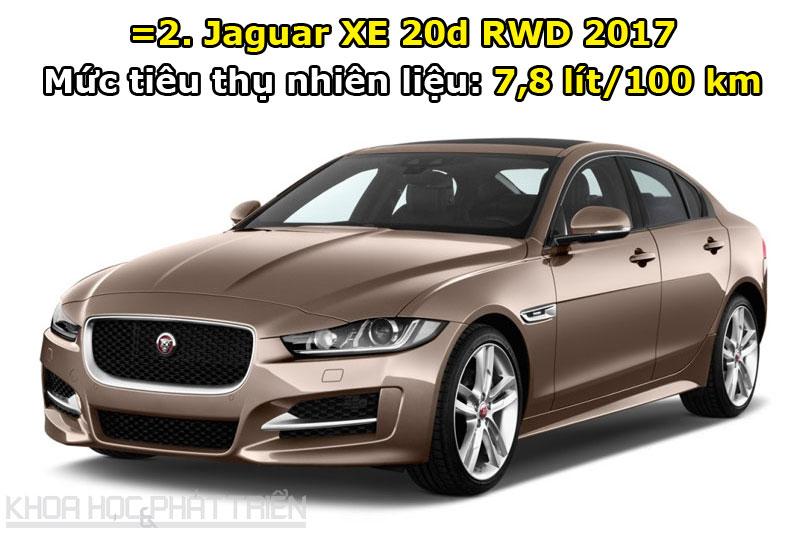 =2. Jaguar XE 20d RWD 2017.