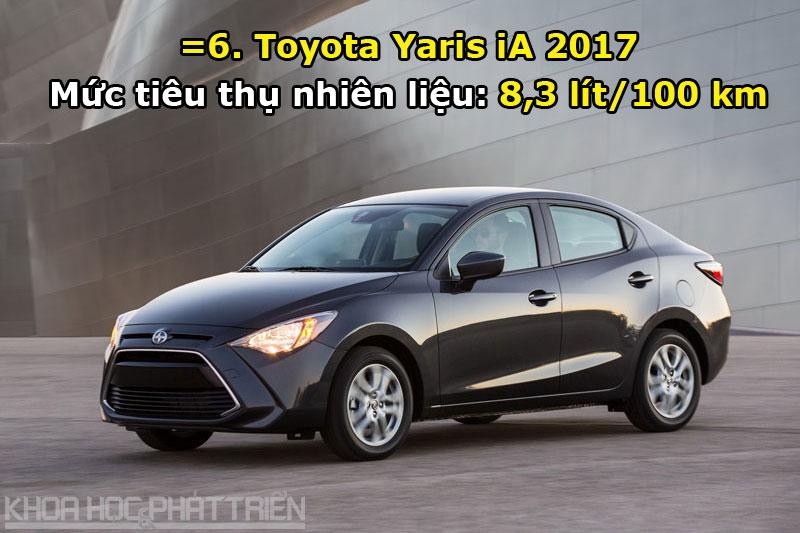 =6. Toyota Yaris iA 2017.