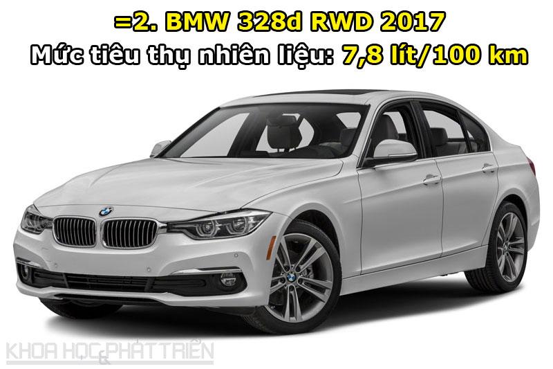=2. BMW 328d RWD 2017.