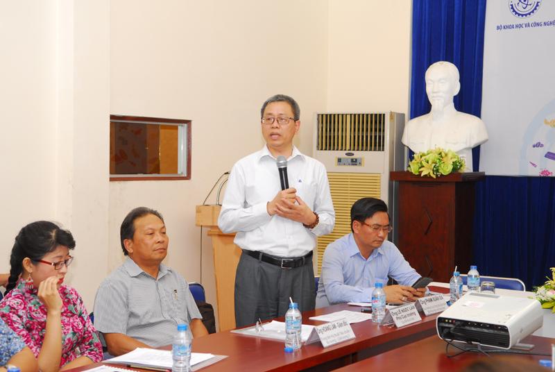 Ông Lê Ngọc Lâm - Phó Cục trưởng Cục Sở hữu trí tuệ. Ảnh: Mạnh Linh