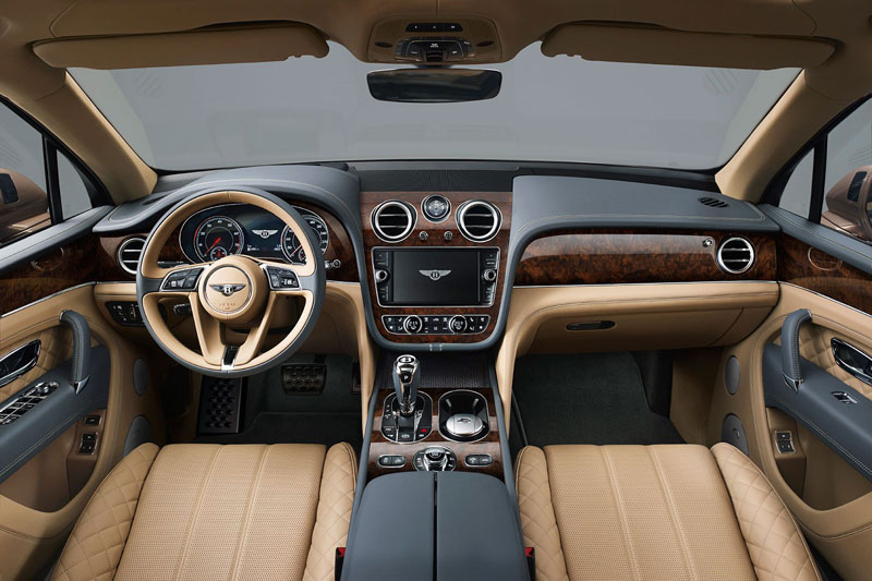 2. Bentley Bentayga.
