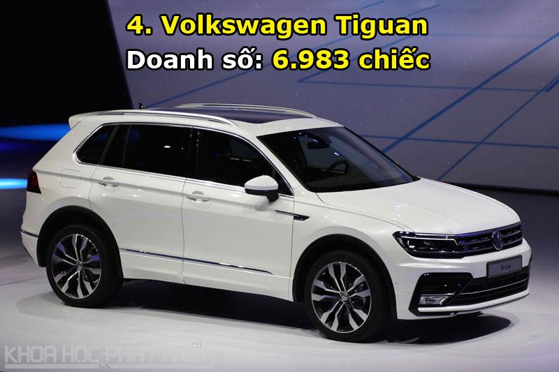 4. Volkswagen Tiguan.